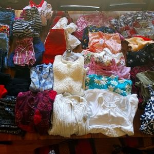 Large Lot of Girls Size 6 Clothes